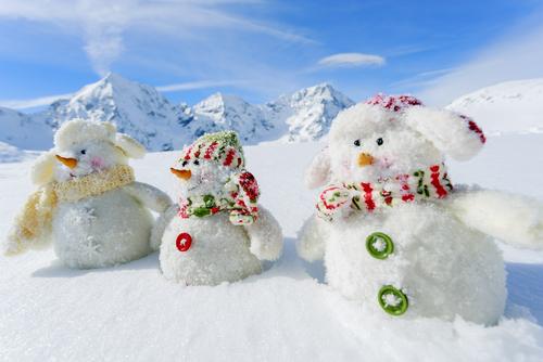 Snowmen Ready for Winter Finals